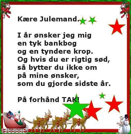 citater om julemanden Sjov ønskeseddel til julemand   Gratis spil og sjove spil på  citater om julemanden