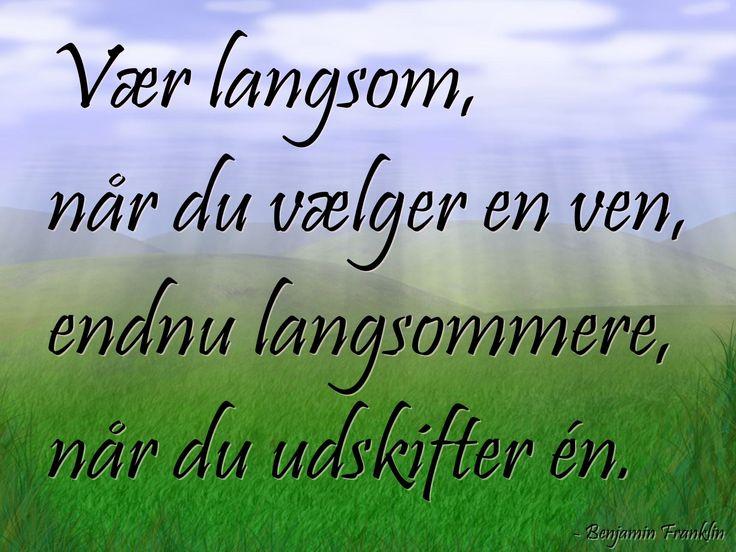 citater om venskab dansk
